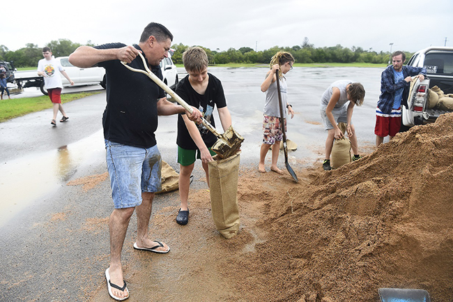 North Queensland affected by flooding